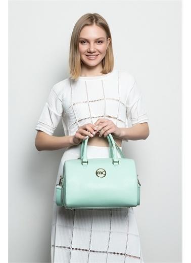 Marie Claire Omuz Çantası Yeşil